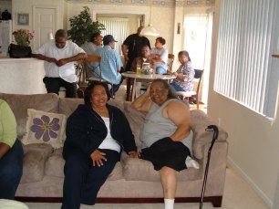 Mom and Auntie Honey