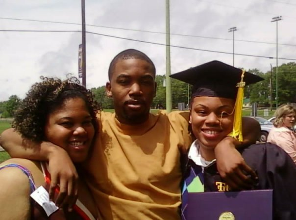 Angellec, Devin, and the Happy TSU Graduate (2009) Chantel Reynolds!